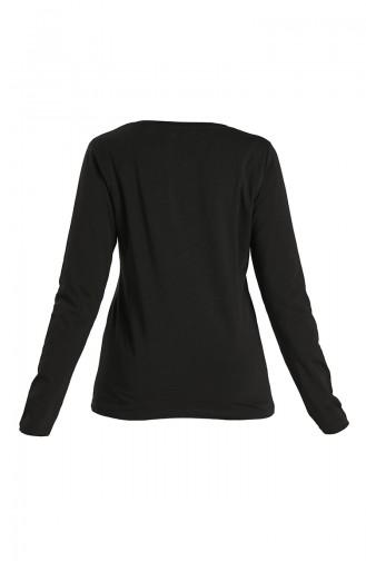Long Sleeve Straight Body 29667-02 Black 29667-02