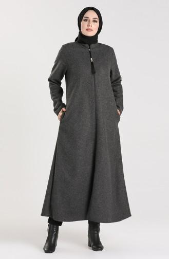 Rauchgrau Mantel 1066-03