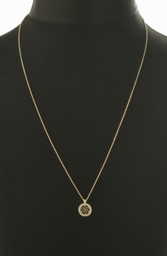 Yellow Necklace 0014-03