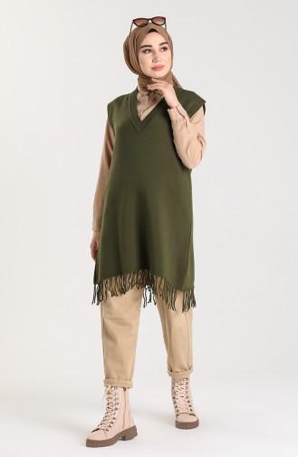 Khaki Pullover 4257-01