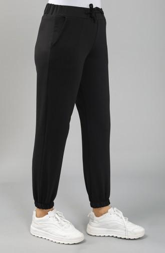 Black Track Pants 2702-01