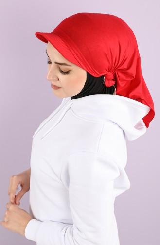 القبعات والباندانا أحمر 0040-15