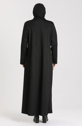 معطف فوقي أسود 0002-03