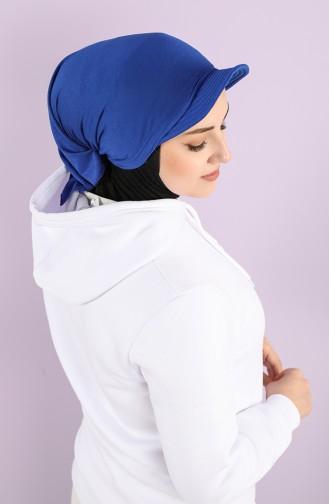 القبعات والباندانا أزرق 0040-04