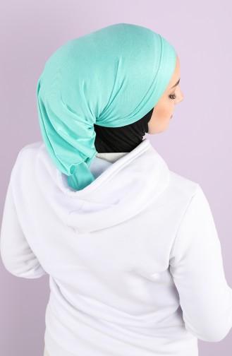 Turquoise Hat and Bandana 0045-17