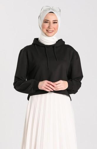 Sweatshirt Noir 29665-02