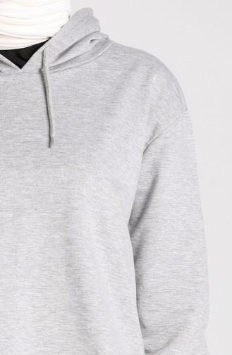 Hooded Sweatshirt 29665-03 Gray 29665-03