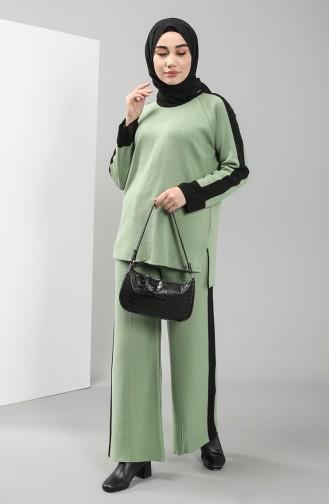 Knitwear Garni Tunic Trousers Double Suit 4339-05 Khaki 4339-05