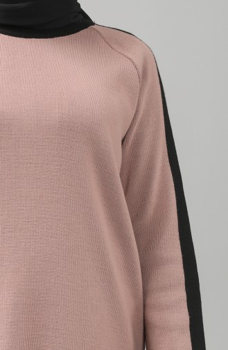 Knitwear Garni Tunic Trousers Double Suit 4339-07 Dried Rose 4339-07