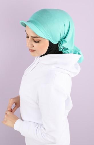 Turquoise Hat and Bandana 0040-17