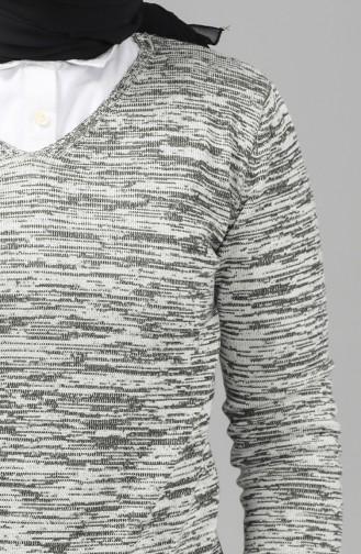 Light Gray Sweater 9114-03