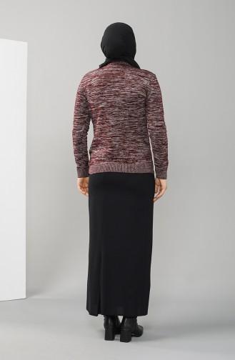Claret Red Sweater 9114-05