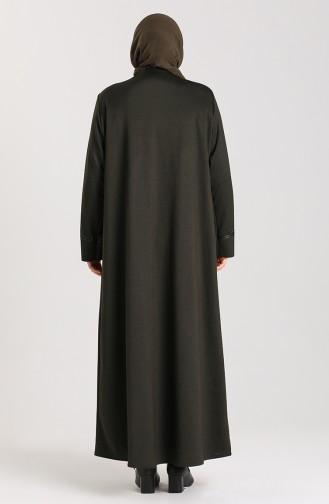 معطف فوقي كاكي 0001-02