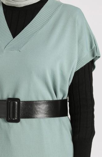 Knitwear Long Sweater 1099-06 Sea Green 1099-06