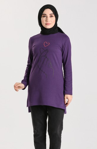 Dark Purple Tuniek 3057-13
