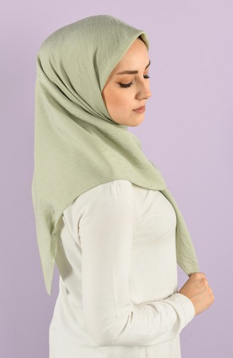 Karaca Plain Silvery Viscose Scarf 90747-11 Mint Green 90747-11