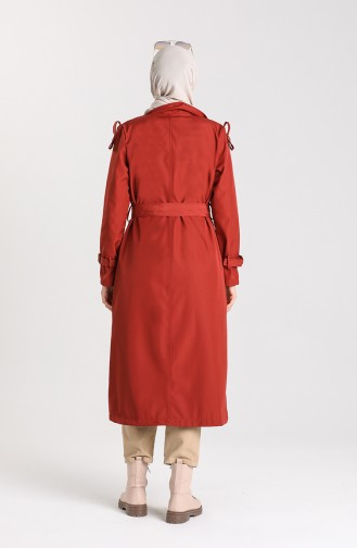 Brick Red Trenchcoat 5069-02