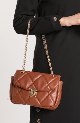 Brick Red Shoulder Bags 10114-06