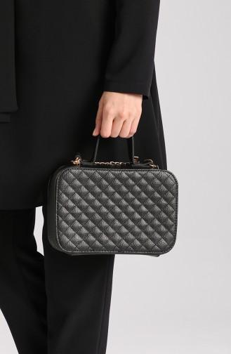حقيبة كتف أسود 10117-02