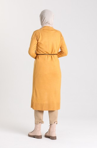 Knitwear Long Sweater 55221A-11 Mustard 55221A-11