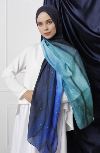 Blue Shawl 20-11086-01