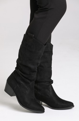 Black Boots-booties 0520-01