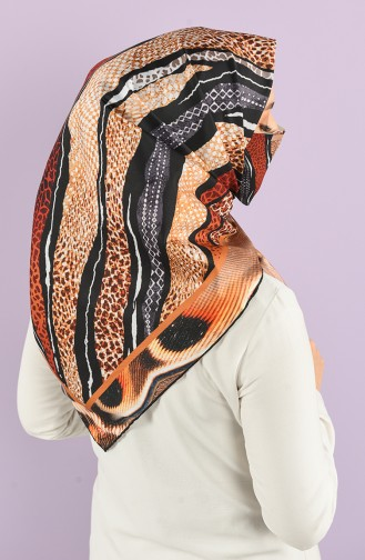Art Scarf Mask Combination -art-esp-18 Black Camel 18