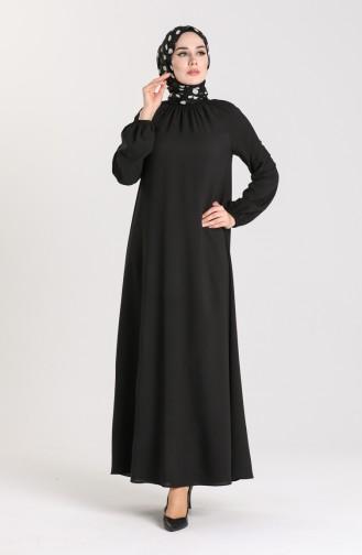 Robe Hijab Noir 3210-04