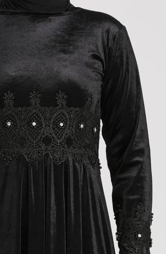Robe Hijab Noir 0113-02
