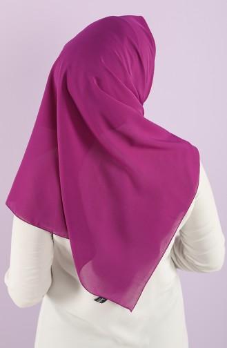 Plain Crepe Scarf 15238-01 Purple 15238-01