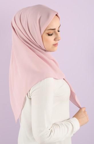 Plain Crepe Scarf 15238-17 Pink Dust 15238-17