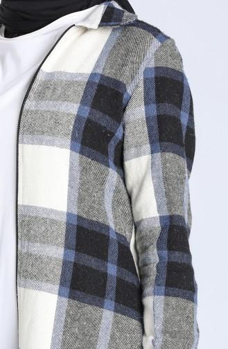 Beige Overhemdblouse 0039-01