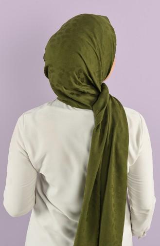 Jacquard Solid Color Shawl 15239-04 Khaki 15239-04