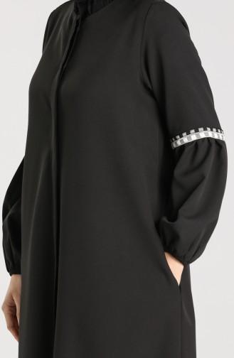 Schwarz Abayas 6187-01