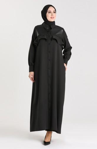 Black Abaya 6188-01