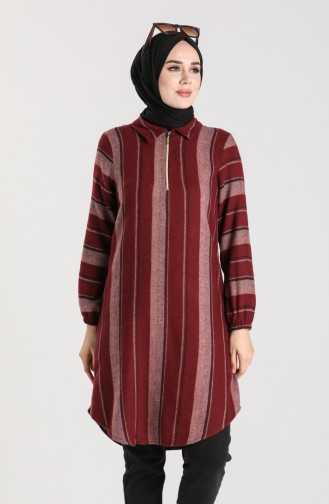Checkered Tunic 5202-06 Dried Rose 5202-06