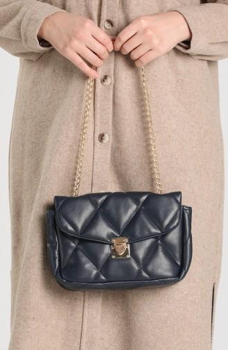 Navy Blue Shoulder Bags 10114-05