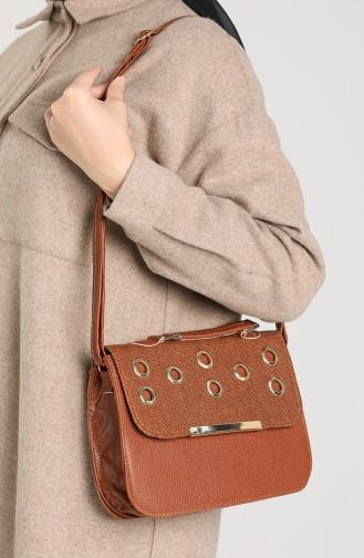 Brick Red Shoulder Bags 10116-06