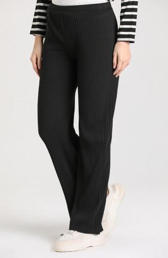 Camisole waist Elastic Pants 1330-01 Black 1330-01