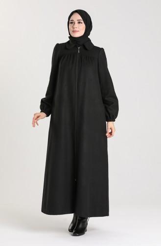 Black Abaya 6870-01