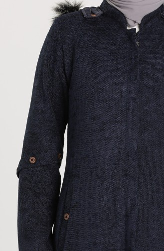 Caban Bleu Marine 1575-02