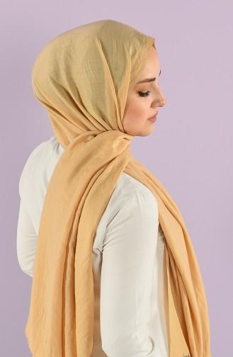 Soft Kraş Düz Şal 15243-23 Altın Rengi