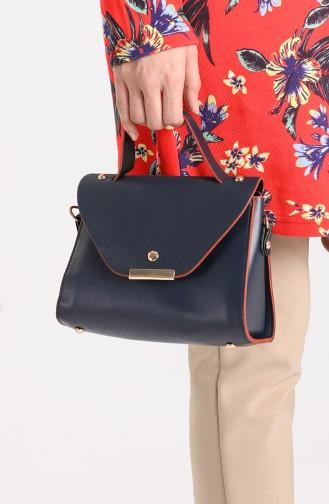 حقيبة كتف أزرق كحلي 10706LA