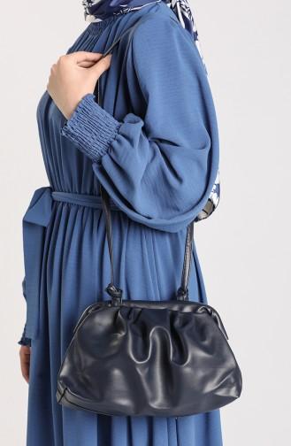 Navy Blue Shoulder Bags 10710LA