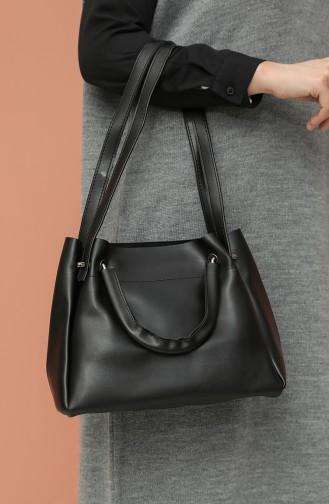 Black Shoulder Bags 4012SI