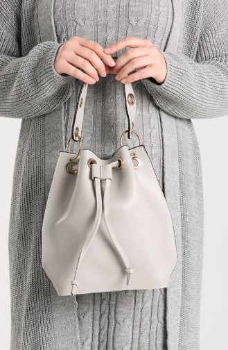 Gray Shoulder Bags 4017GR