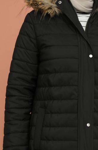 Black Lange Jas 5164-02