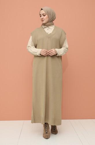 Knitwear Long Sweater 0111-02 Camel 0111-02