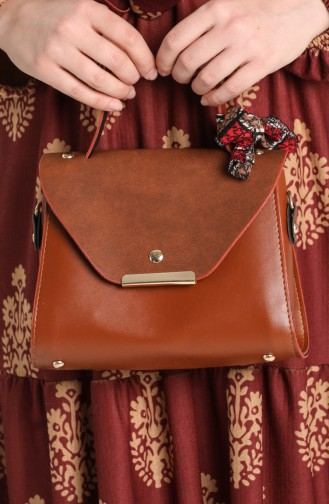 Brown Shoulder Bags 10706KA