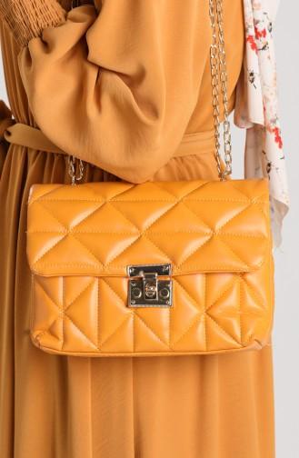 Yellow Shoulder Bags 10709SA